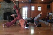 Contact Improvisation with Erica Kaufman, E-RYT-500 (Music performed by Chris Brown)